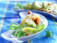Gurken mit karamellisierten Mandeln Rezept