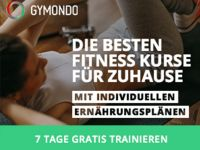 Gymondo: Die Online-Fitnessplattform für flexibles Training