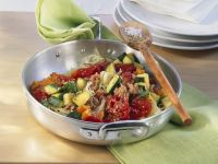 Hackfleisch-Gemüsepfanne Rezept
