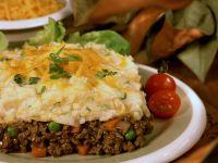Hackfleisch-Kartoffelbrei-Auflauf mit Cheddar Rezept