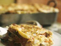 Hackfleisch-Lasagne mit Ei Rezept