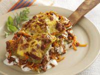 Hackfleisch-Lasagne mit Kürbis Rezept