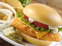 Hähnchen-Burger Rezept