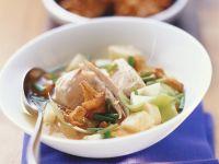 Hähnchen-Gemüse-Topf mit Pfifferlingen Rezept