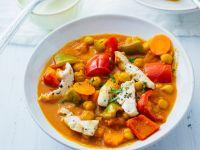 Hähnchen-Gemüseeintopf Rezept