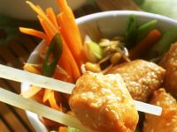 Hähnchen im Ausbackteig Rezept