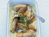 Hähnchen in Estragon-Sahne-Sauce Rezept