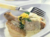 Hähnchen in Sahnesauce Rezept