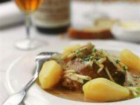 Hähnchen mit Apfel-Sauce Rezept