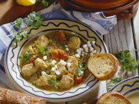 Hähnchen mit Eiersoße auf spanische Art Rezept