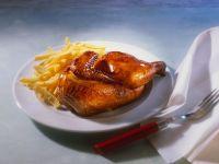 Hähnchen mit Pommes frites Rezept