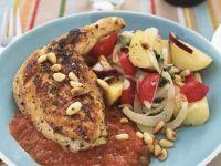Hähnchen mit Tomatensauce Rezept