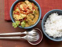 Hähnchen-Erdnuss-Curry