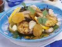 Hähnchen-Tajine mit Aprikosen Rezept