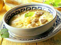 Hähnchen-Zitronen-Suppe mit Melisse Rezept