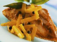 Hähnchenbrust mit Chutney aus Mango Rezept