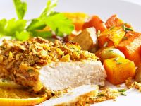 Hähnchenbrust mit Cornflakes Rezept