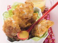 Hähnchenbrust mit Cornflakes-Panade Rezept