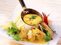 Hähnchenbrust mit Currysauce Rezept
