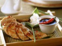 Hähnchenbrust mit Dip Rezept