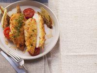 Hähnchenbrust mit Kartoffelhaube Rezept