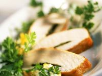 Hähnchenbrust mit Kräutersauce Rezept