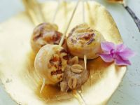 Hähnchenbrust mit Lychee gefüllt Rezept