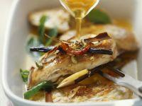 Hähnchenbrust mit Zitrone und Gewürzvinaigrette Rezept