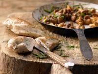 Hähnchenbrust mit Ziegenkäse Rezept