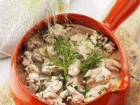 Hähnchenbrustragout mit Sahnesauce Rezept