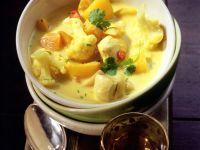 Hähnchencurry mit Blumenkohl und Mango Rezept