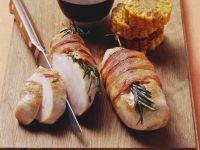 Hähnchenfilet im Speckmantel mit BBQ-Soße Rezept