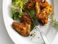 Hähnchenflügel auf italienische Art Rezept