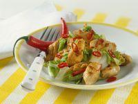 Hähnchenpfanne mit Chinakohl Rezept