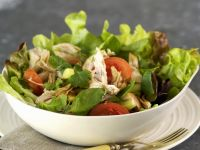 Hähnchensalat auf Thai-Art Rezept