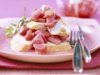 Hähnchensalat mit Rhabarber Rezept