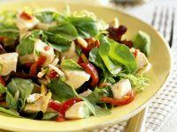 Hähnchensalat mit Spinat Rezept