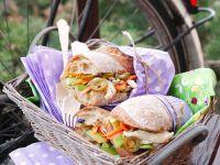 Hähnchensalat-Sandwich Rezept
