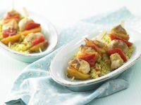 Hähnchenspieße mit Couscous Rezept