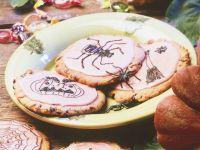 Halloween-Cookies Rezept