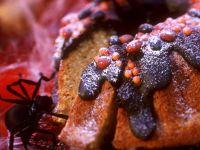 Süßer Kürbiskuchen zu Halloween