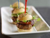 Hamburger-Häppchen Rezept