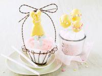 Hasen- und Osterei-Cake-Pops Rezept