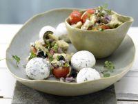 Hausgemachter Kräuter-Joghurt-Frischkäse Rezept