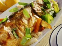 Hecht mit Gemüse-Fischfüllung Rezept