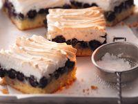Heidelbeer-Baiser-Kuchen Rezept