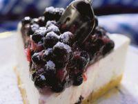 Heidelbeer-Frischkäse-Torte