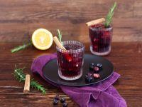 Heidelbeer-Mocktail mit Zimt Rezept