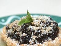 Heidelbeer-Streusel-Törtchen Rezept