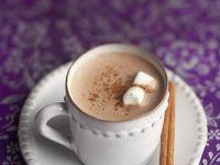 Heiße Schokolade mit Marshmallows Rezept